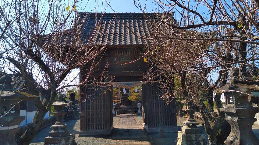 岩隣寺前の菅原神社